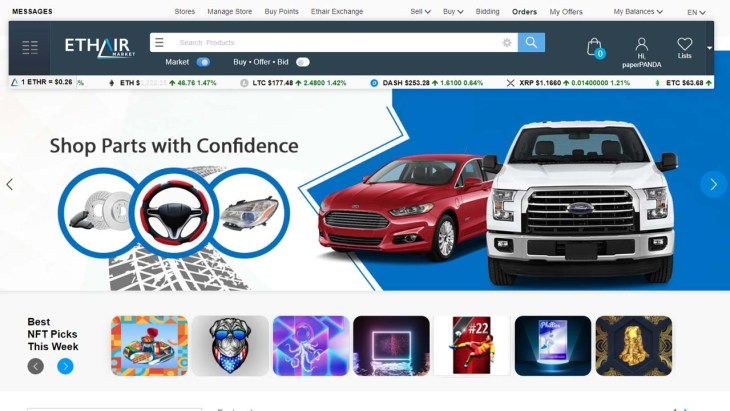 Ethair Market Is Taking on Amazon and eBay in a Move to Revolutionize the World of E-Commerce
