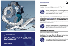 Dragonchain ICO Report Preview
