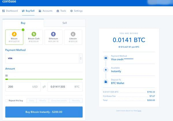 Users can confirm their transaction on the Coinbase exchange when they buy Bitcoin using Coinbase