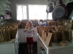 Donations in Bitcoins from Reddit users made these lunches possible.