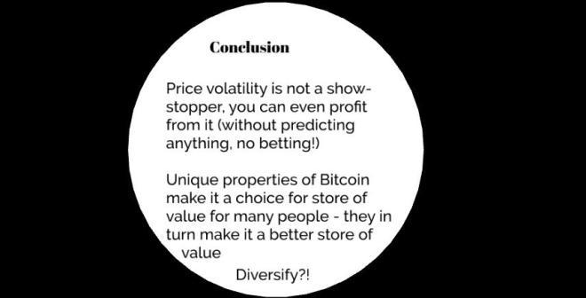 Ako zarobiť na bitcoin volatilite - prednáška Juraja Bednára v Progressbare
