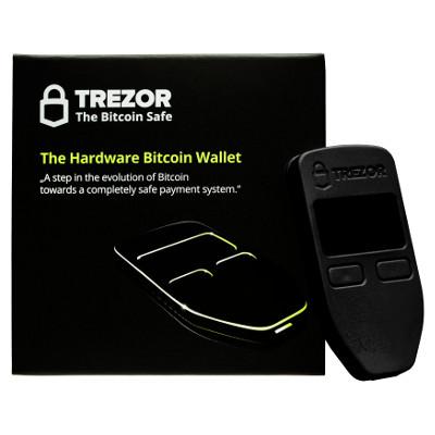 Hardvérová bitcoin peňaženka Trezor