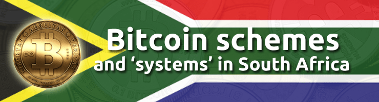 Bitcoin schemes in South Africa