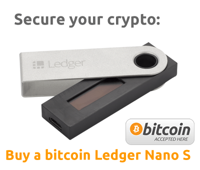 Buy a ledger nano s device