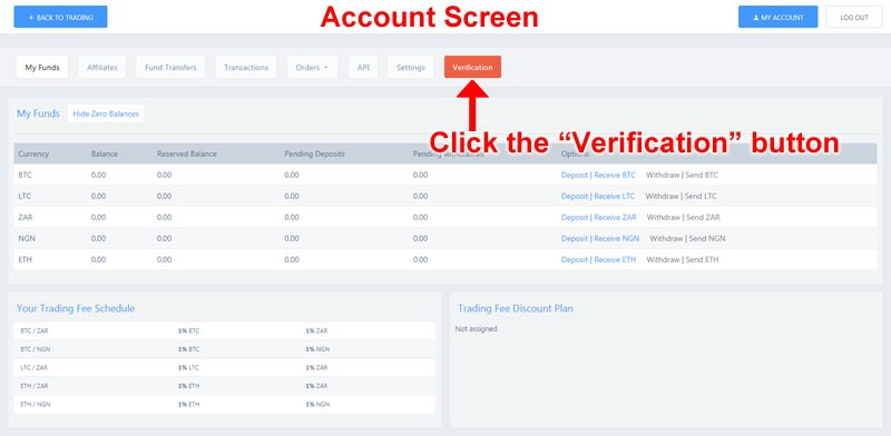 verifiy account