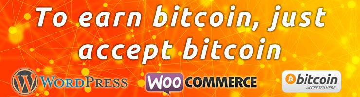 Earn bitcoin, accept bitcoin