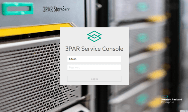 HPE enables Customer Self-Update for its 3PAR portfolio