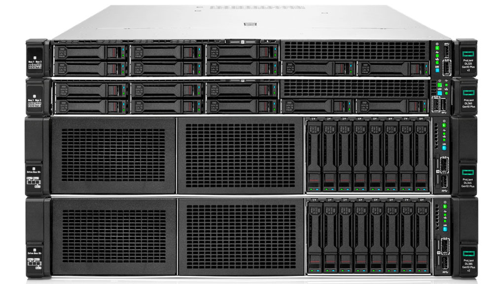 HPE ProLiant DL family with 3rd Gen AMD EPYC