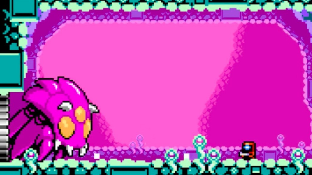 Xeodrifter Boss Fight