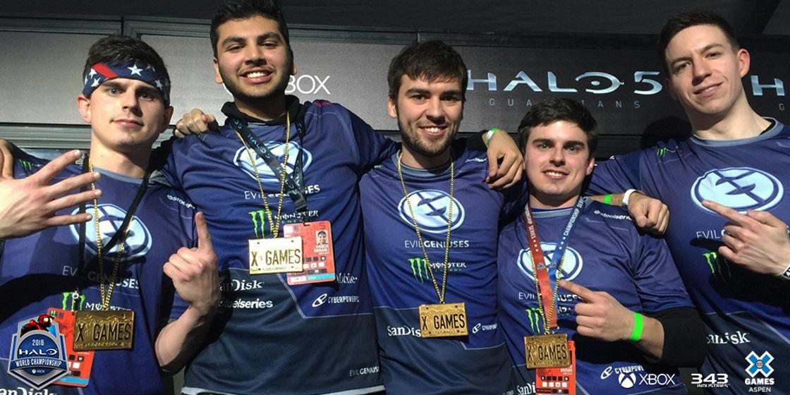 Team 'Evil Geniuses' Win Gold at X Games Aspen
