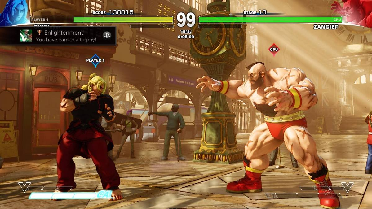 SFV Ken Vs Zangief