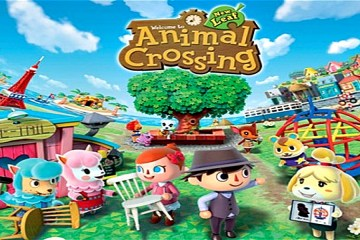 animal crossing new leaf for 3ds cover