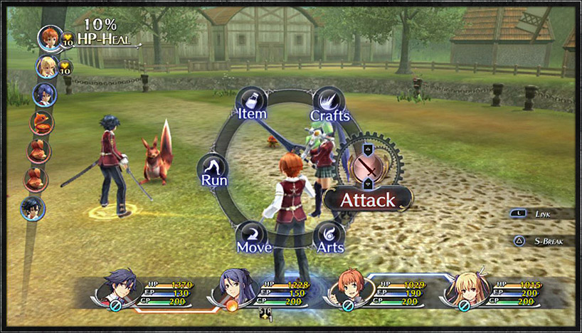 Trails of Cold Steel Battle System