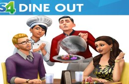 The Sims 4 Dine Out cover art