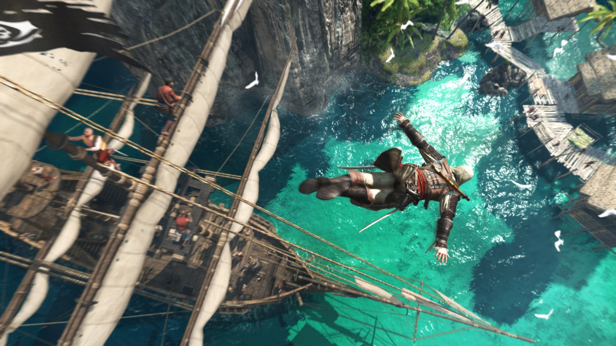 5 Games I Couldn't Finish Assassin's Creed IV Black Flag Image