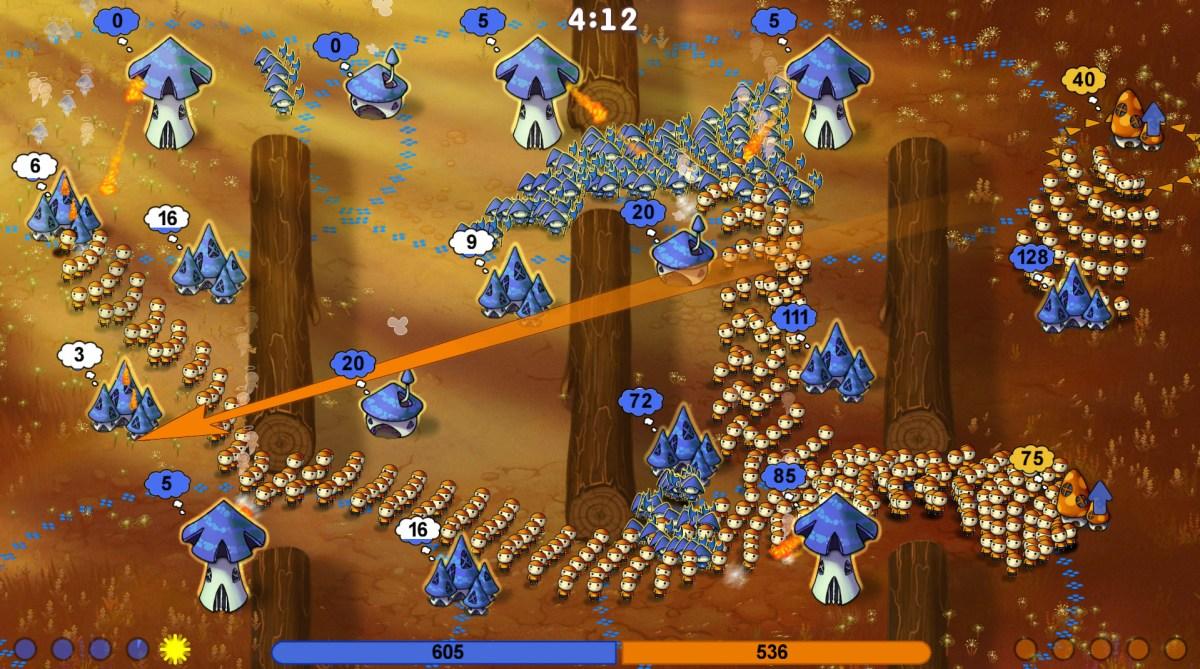 Mushroom Wars Map 2