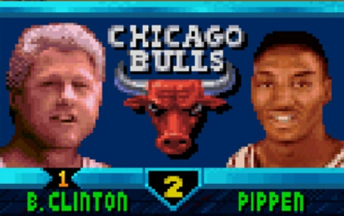 nba jam bill clinton