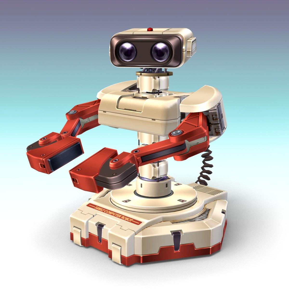 Top 10 Robots R.O.B. Image