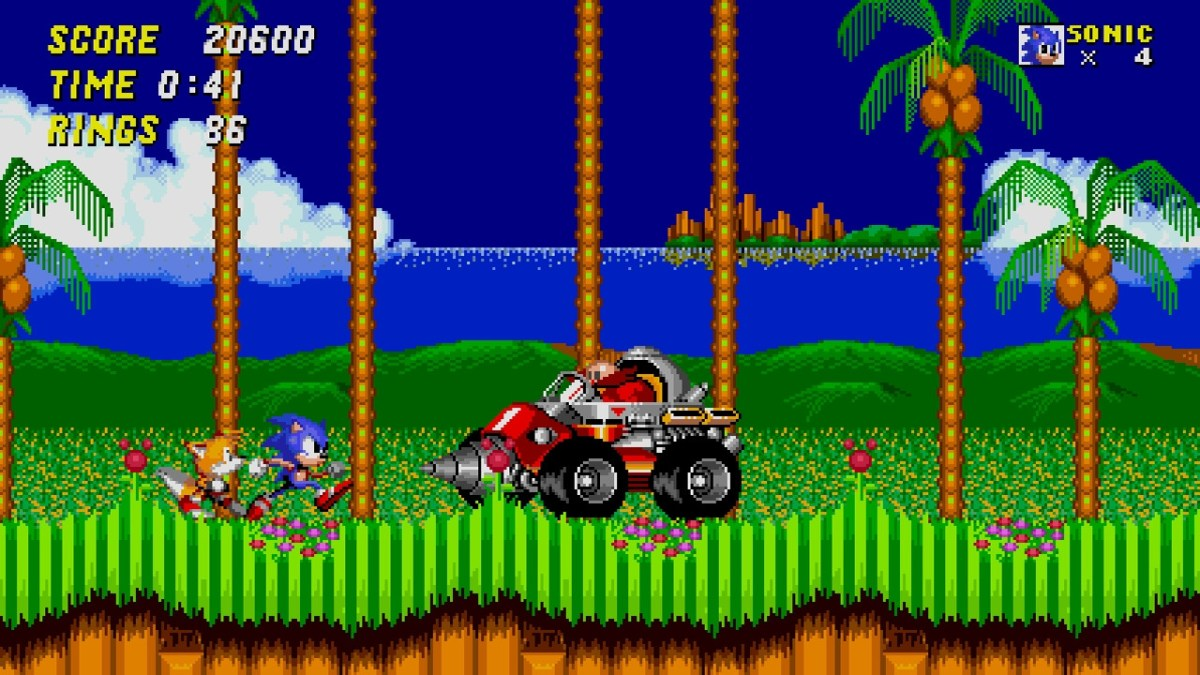 Sonic world 1 boss