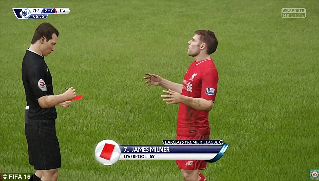 james_milner_straight_red_card