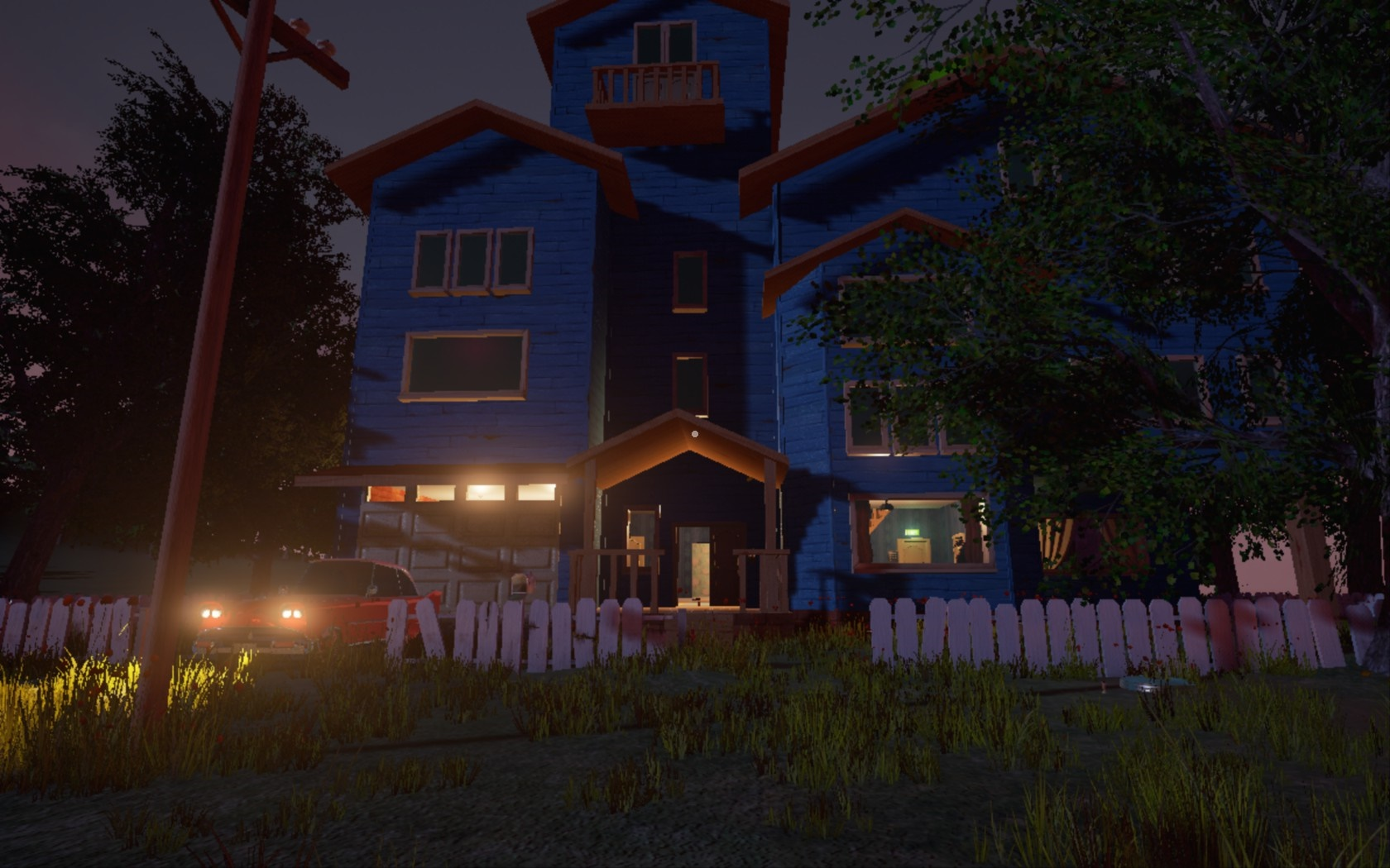 The hello neighbor house - Hello Neighbor Presents A New Kind Of Survival Horror As You Engage In A Game Of Cat And Mouse With A Single Hostile Ai The Playing Area Is Small And