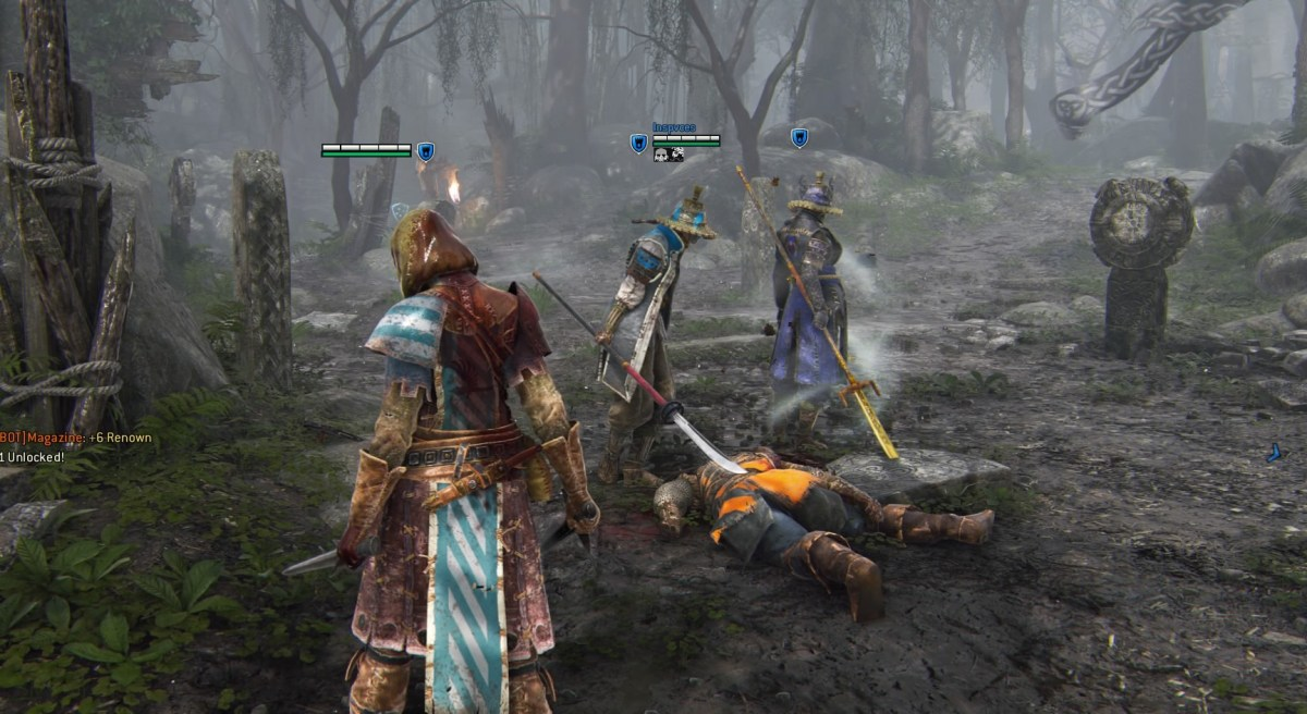 for honor match end