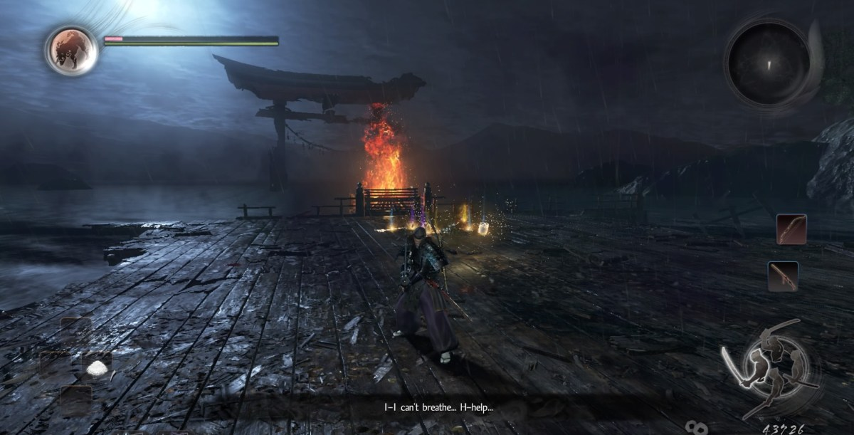 Nioh water temple