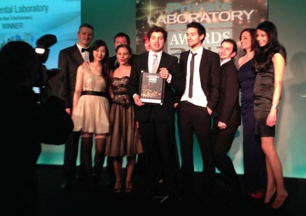 Biterite. Winners of Best Lab Award 2013