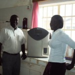 Attrezzatura per il St. Joseph's Hospital di Kitgum