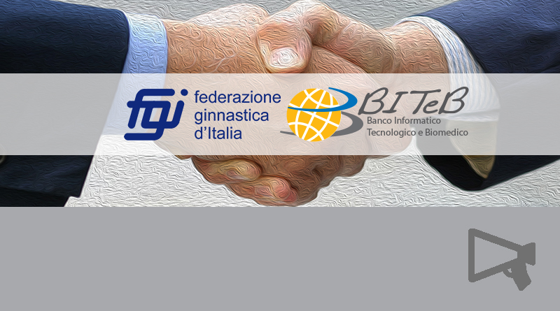 Accordo BITeB e Federazione Ginnastica d'Italia
