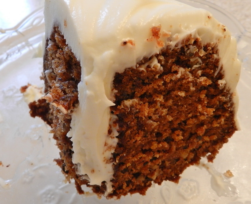 Carrot Cake in the Saint John City Market