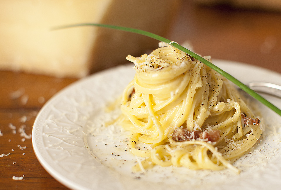spaghetti carbonara – simple and stunning