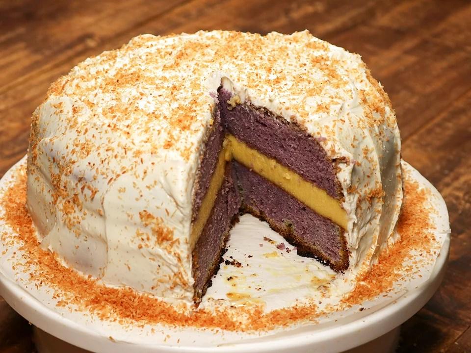 Ube Powder Cake Recipe
