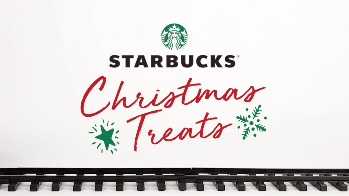 Starbucks Christmas Treats