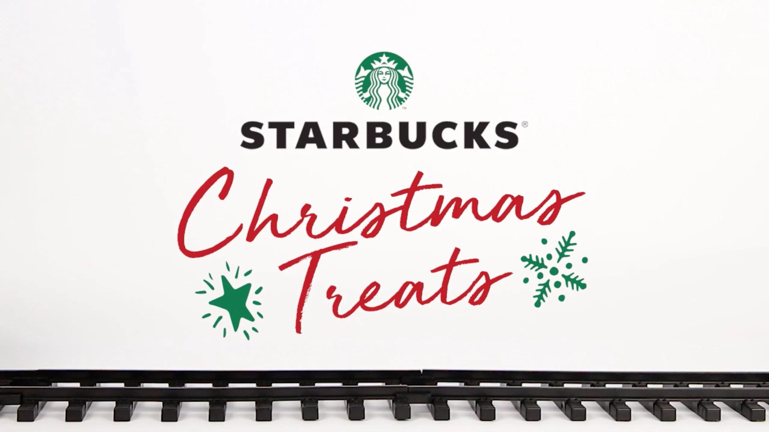 Starbucks Christmas Treats - BiteSized.ph