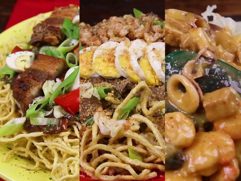 3 Ways Crispy Pancit Cabagan Lomi Malabon Bitesized Ph