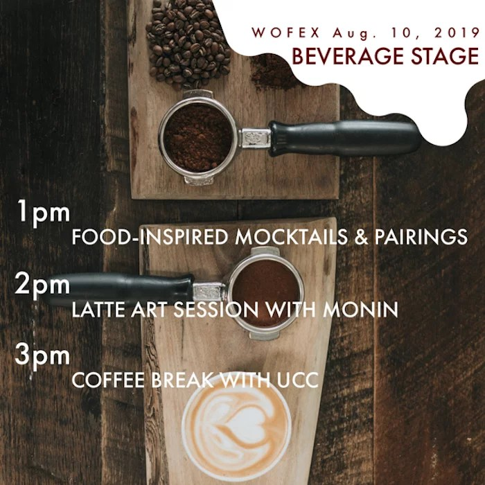 WOFEX 2019 beverage stage