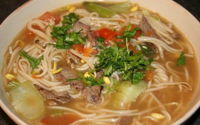 Hearty Asian Noodle Soup Recipe