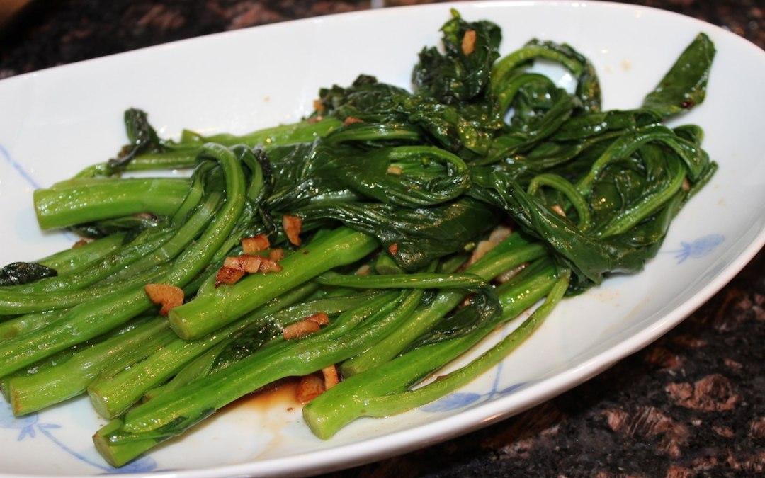 Stir fried Chinese broccoli (Gai Lan)