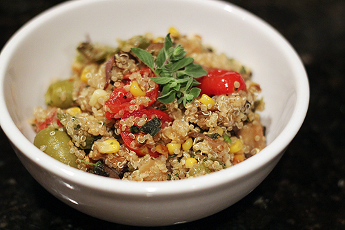 roasted veg quinoa 4