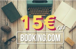 Booking 15 off