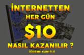 İnternetten Günde 10$ Nasıl Kazanılır