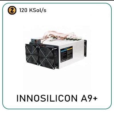 Innosilicon A9+ ZMaster 120Ksol/s
