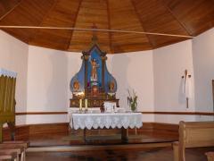 Prva drvena kapela sagrađena je vjerojatno prema natpisu na zvonu još u drugoj polovini 17 st., a današnja kapela je iz 1908. g., a posvećena je 1909. g. Kapelu je podigla tesarska družba Marka i Jure Jankovića iz Čičke Poljane, a glavni oltar djelo je domaćeg majstora Pospišila iz Buševca.