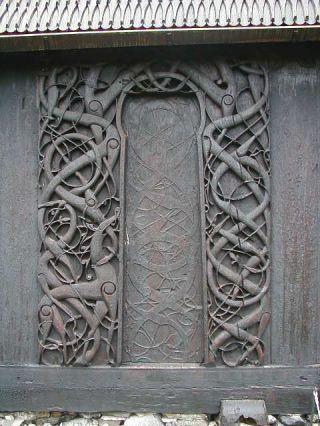 Urneška drvena crkva, Ornes