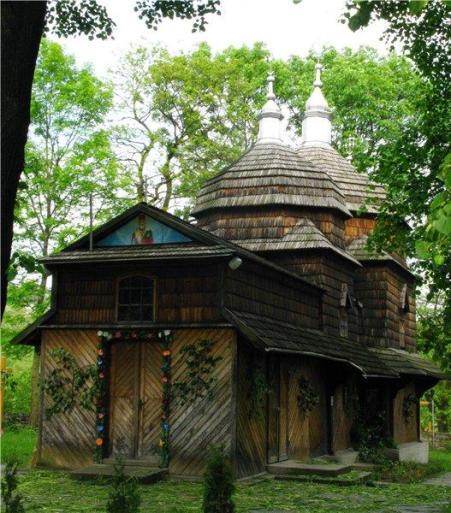 Crkva sv. Nikole, Sapogiv (18. st.)