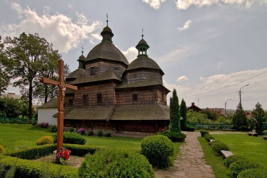 Crkva Presvetog Trojstva, Žovkva (