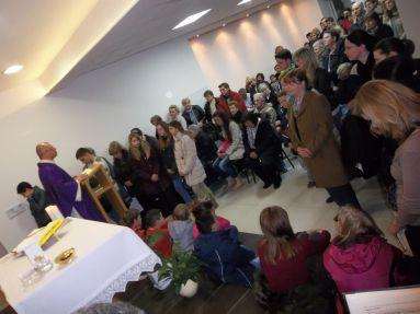 Misno slavlje u kapeli Pastoralnoga centra