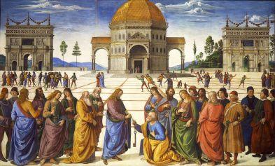 "Pietro Perugini ""Predaja ključeva"", Foto: Wikimedia commons"