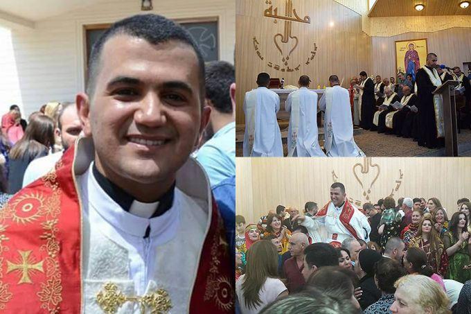 Fr. Roni Momika ređenje Erbil